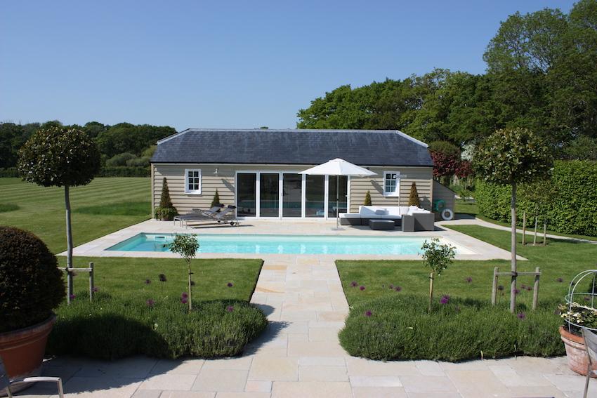 Single Storey Gymnasium and Swimming Pool
