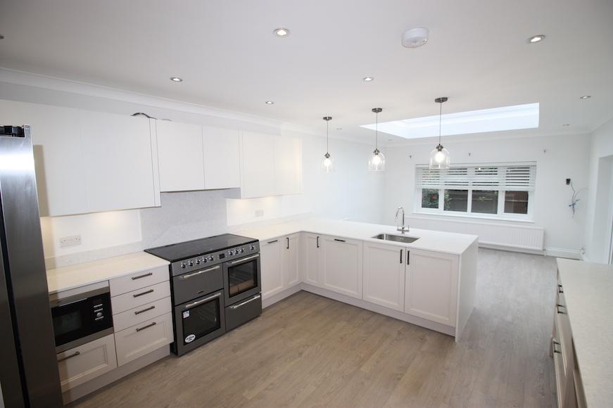 New Kitchen and Lantern